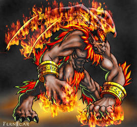 Ifrit-Color by fernicar