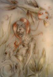 The Little Mermaid - Ariel by dragon-www