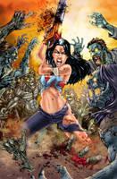 Monster Hunter print by jembury