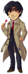 Commission: Gaku Yashiro pixel by i0n4