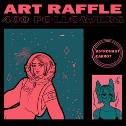 ART RAFFLE!!! by astronautCarrot