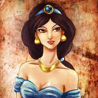 Princess Jasmine by KaroruMetallium