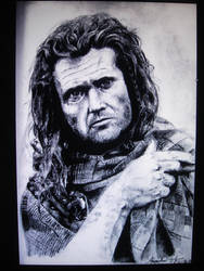 Mel Gibson - Braveheart by qchangyao