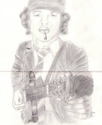 Angus Young by Melmoy