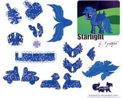 Starlight OC Papercraft by FyreWytch