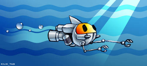 Aqua-bot by kilik-tag