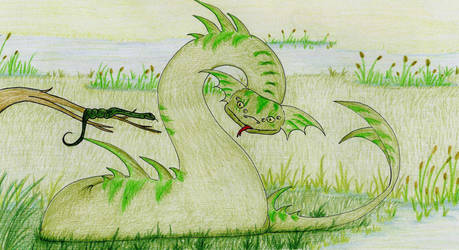 Creature of the Marshland by Fantasybond