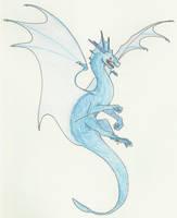 Blue Dragon Mascot Contest by Fantasybond