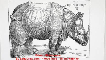 Rhino-0 by Ladydrawcom