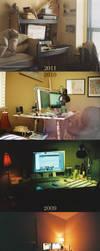 desk by redniet