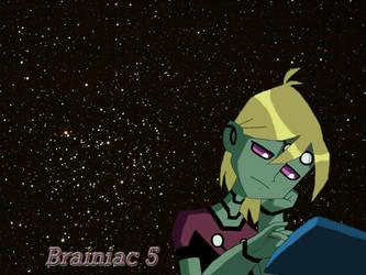 Brainiac 5 Wallpaper by doombunny13
