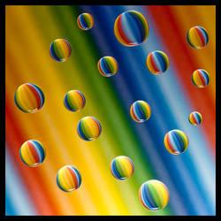 Balloon Drops Float Free by IngoSchobert