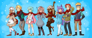 SS: Stay Warm, Everyone! by Whoodles