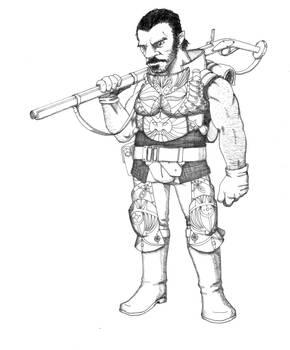Dwarven Fusilier by RScottFischer