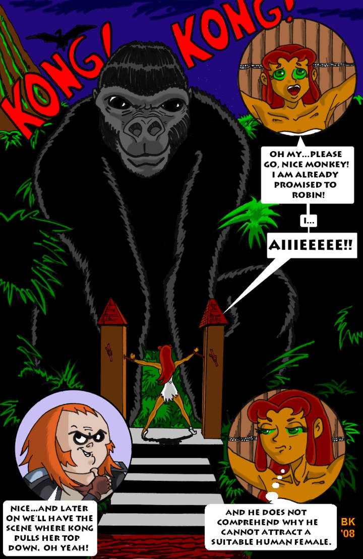 The Bride Of Kong by GrouchoM