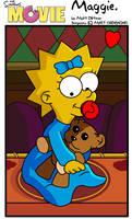 Maggie:Simpsons Movie by kintobor