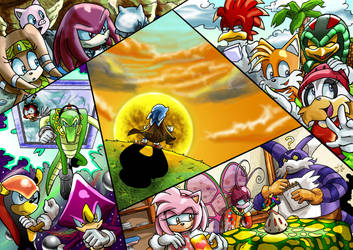 Sonic 20th: Heroes by kintobor