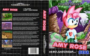 Amy Rose, for the Sega Mega Drive by kintobor