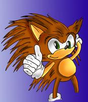 Sonic young - fleetway based by kintobor