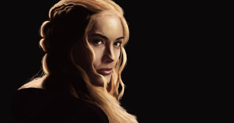 GoT Cersei study by Bigmat-Art