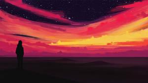 Sunset by Bigmat-Art