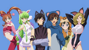Code Geass - Animal Costumes (face) by VK-for-da-win