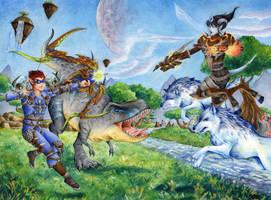 CM: WOW Hunter vs. Shaman by TirraMisu
