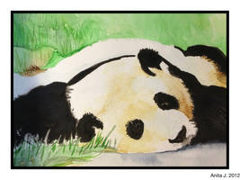 Lazy Day Panda by EsBest