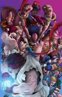 Street Fighter IV by KangShon