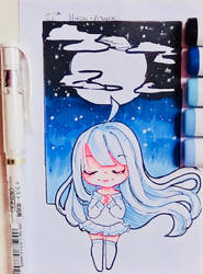 Magical night. by Hiroki-Ajame