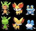 6th Generation Starters by N-Kin