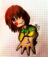 Undertale-Chara by An-AleDy
