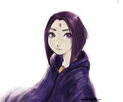 Raven by Akiuumi