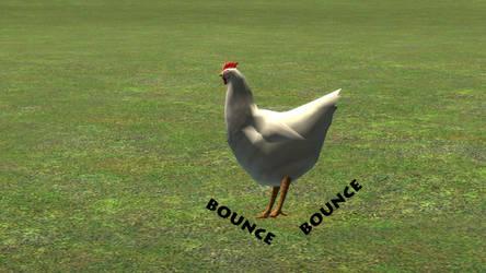 Bouncy Chicken by fireflamesniper