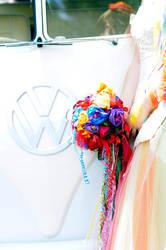 Boquet and VW Kombi by littlehippy