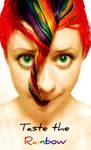 Taste the Rainbow Hair by littlehippy