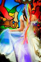 Rainbow Dress by littlehippy