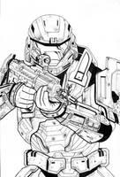 UNSC Spartan WIP by ragelion
