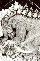 Godzilla of the planet Earth by ragelion