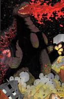 Godzilla of sector 2814 by ragelion