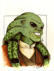 Kit Fisto Commission by ragelion