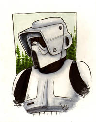 Biker Scout Commission by ragelion