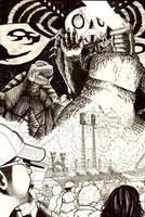 Godzilla Cincinnati Inks by ragelion