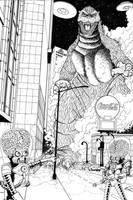 Godzilla in the ATL by ragelion