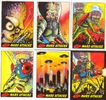 Mars Attacks return cards by ragelion