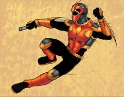 Sentai Hero colored by ragelion