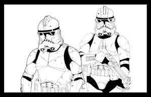 Clone Troopers by ragelion