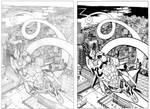 Zoom Suit 2 cover comparison by ragelion