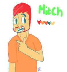 color pallet challenge- mitch number 9 by Purple-and-Fuzzy