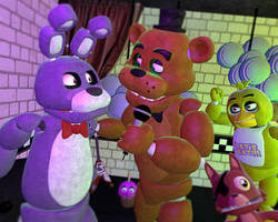 The flirtatious Bear by Burgatory